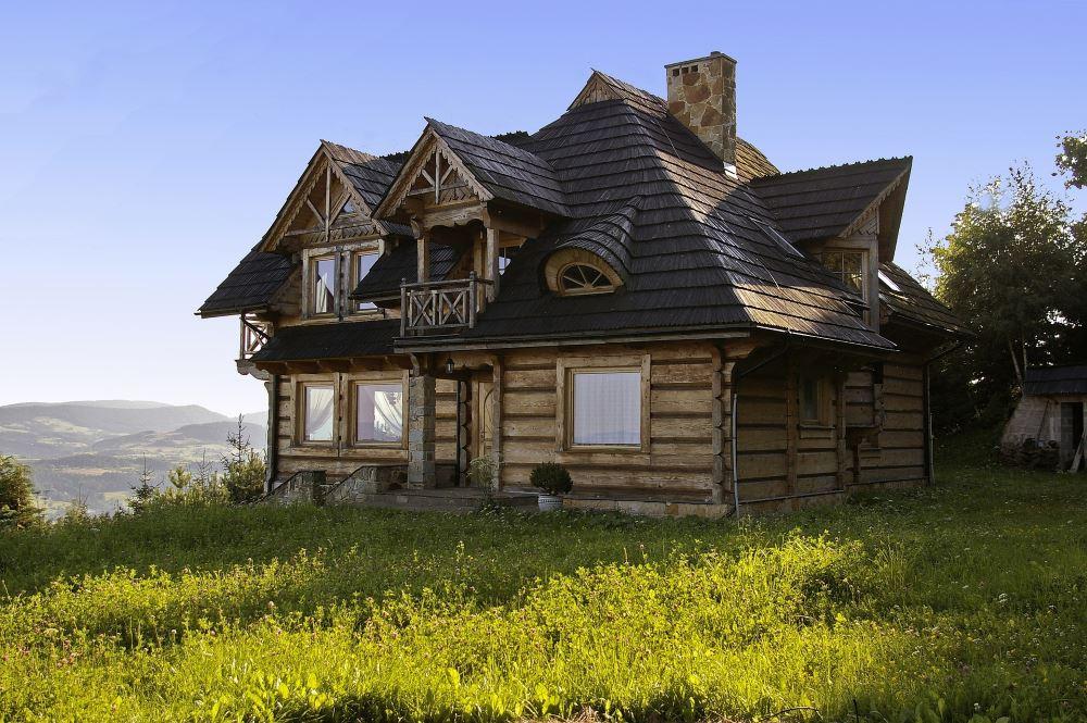 Holzhaus Holz Blockhütte