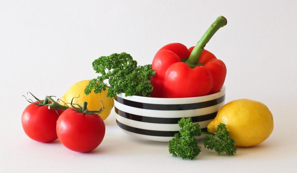 Gemüse, Tomate, Paprika gesunde Ernährung