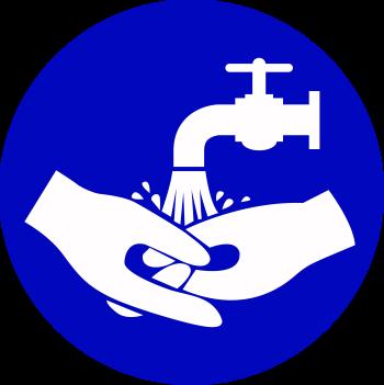 Schild Händewaschen
