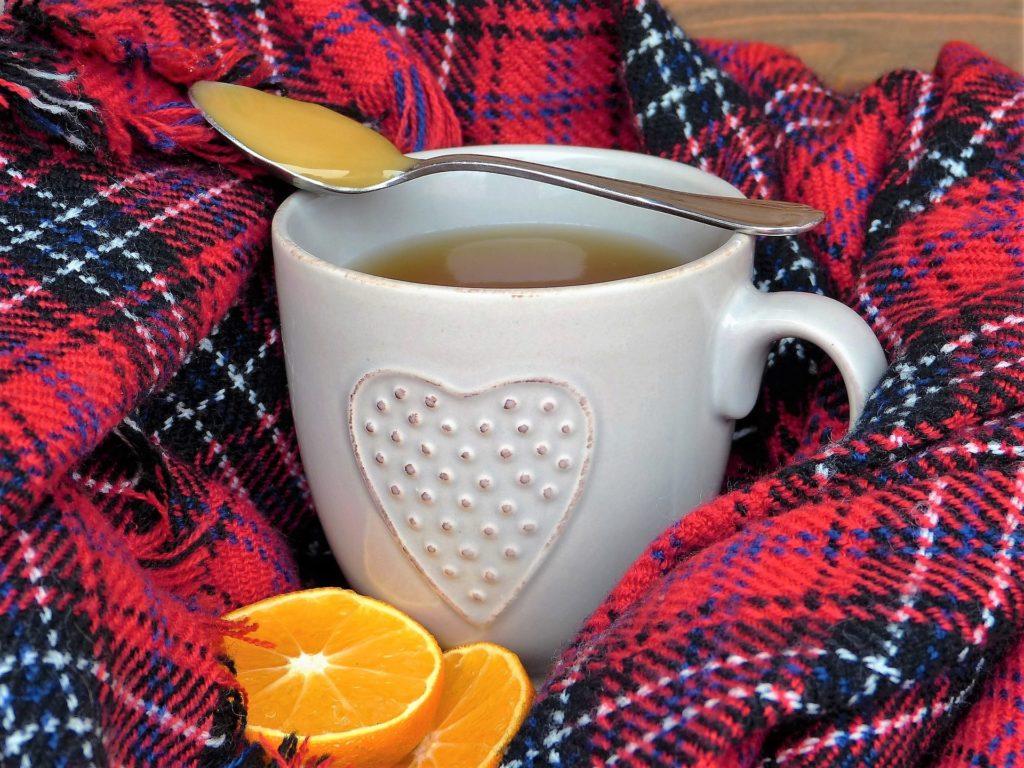 Tasse Tee min Orange
